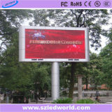 P10 광고를 위한 옥외 풀 컬러 조정 SMD3535 높은 광도 발광 다이오드 표시 위원회