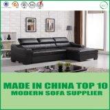 Кровать софы самомоднейшей домашней мебели реальная кожаный
