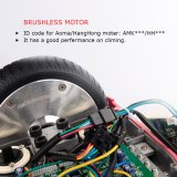 Motorino elettrico di disegno di Koowheel di tecnologia dei sensori di gravità dell'equilibrio unico di auto per gli adulti ed i bambini