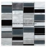 モザイク・タイルのMatelアルミニウムガラスは装飾の台所Backsplashの浴室の壁のタイルAacrrb3101をタイルを張る