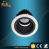 Luz de aluminio ligera de la arandela de la pared de la MAZORCA de la alta calidad LED