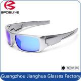 メンズ紫外線保護サングラス黒いフレームの涼しい乗馬の自転車のサングラス