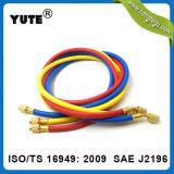 Yute 1/4インチ800psiの働き圧力SAE J2888充満ホース