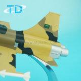 Modelo do avião militar da resina de Rsaf F-5