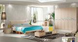Новая модная кровать мебели спальни 2016 в конструкции китайца с классицистическим типом (UL-LF002)