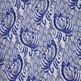 Tessuto francese del merletto dell'oro del fiore della tessile unica di disegno
