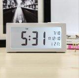 전자 디지털 LED 무언 침대 곁 자명종