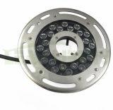 CREE LED, IP68, luces subacuáticas 316ss para las fuentes con el cable del caucho de la UL