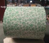 Espesor decorativo de la capa PPGI 1.2m m de la flor de los materiales del modelo de la cabina