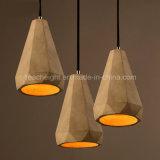Indicatore luminoso industriale del pendente del cemento degli artigianato dell'annata del ristorante del caffè