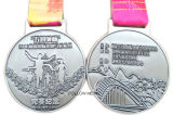 Medaglia su ordinazione per la maratona mezza internazionale con il nastro di stampa termica