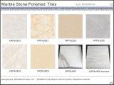 Azulejos de suelo Polished esmaltados piedra de mármol de la porcelana (VRP8J003, 800X800m m)