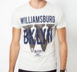 De bonne qualité avec le prix bon marché peuvent être les T-shirts chauds d'hommes de vente de coton d'été fait sur commande de mode