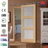 Furnier-Blatt geformte HDF Sloid hölzerne Tür