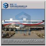 40000L glanzend Aluminium 3 de Aanhangwagen van de Tankwagen van de As