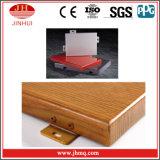 Parete divisoria di alluminio del grano di legno naturale d'imitazione di alta qualità