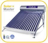 Calentador de energía solar de alta presión integrante