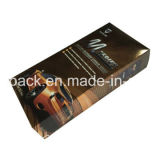 Изготовленный на заказ напечатанная произведением искысства коробка лоснистой коробки слоения упаковывая