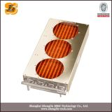 Tipo condensador da aleta da câmara de ar do aço inoxidável do Refrigeration