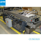 Hochgeschwindigkeits-PVC-Bambusfaser integrierte Metope Strangpresßling-Zeile