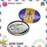 磁石/ギフトのオープナが付いているOEMの錫の栓抜き冷却装置磁石/丸ビンのオープナ