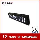 [Ganxin] белая домашняя индикация СИД часов экрана цифров украшения для крытого использования