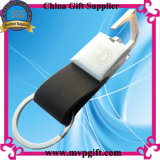 Keychain de borracha para o presente de anel chave de plástico