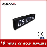[Ganxin] Afficheur LED à la maison blanc d'horloge d'écran de Digitals de décoration pour l'usage d'intérieur
