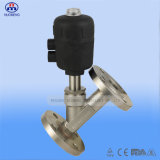 Stainless sanitario Steel Angle Seat Valve per Pharmacy, Food e Beverage Processing