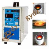 15kw Малая индукционная плавильная печь для золота, серебра, латуни