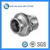 Тип зажатый материалом задерживающий клапан Ss304/Ss316L ISO 3A DIN санитарный