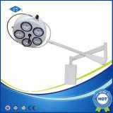 Lumières chirurgicales de lampe vétérinaire d'opération (YD02-5W DEL)
