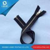 Zahn-begrenzter Metallmessingreißverschluß der Qualitäts-5# O