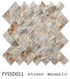 300*300mmの特別なデザイン(FYSSD021)の無作法な建築材料の大理石のモザイク石のタイル