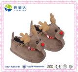 3D Deer Elk Animal Slippers Christmas Toy