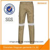 Sg de la estrella pantalones del cargo del trabajo industrial de la tela cruzada de 8 onzas