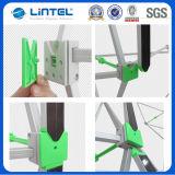 Портативная алюминиевая стойка знамени магнитная хлопает вверх (LT-09L-A)