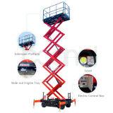 Das bewegliche Antennen-Arbeiten hydraulisch Scissor Aufzug