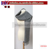 직물 마술 스카프 숄 Snood 다중 뜨개질을 한 스카프 담황색의 연한 가죽 (OS1003)