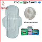 중국 Good Supplier Super Absorbent 100%년 Cotton Lady 또는 Female Sanitary Napkin