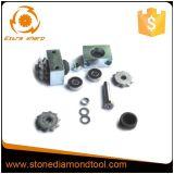Инструменты всего сплава комплекта меля для поверхности Lichi каменной