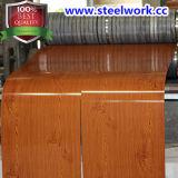 Bobina d'acciaio del reticolo di legno del grano del nuovo prodotto (CC-15)