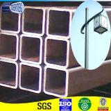 Schwarzes getemperter quadratischer Stahlrohr-Kohlenstoff