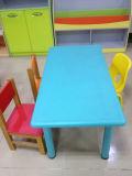 プラスチック緑のかわいい子供表および椅子(SF-08C)