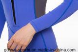 Мокрая одежда неопрена втулки застежка-молнии комода длинняя для женщин