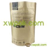 Kraft 종이 1회분의 커피 봉지를 인쇄하는 로고