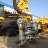 Bomba submergível da draga da areia do motor hidráulico com a máquina escavadora dois