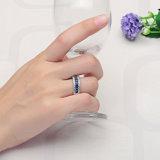 Beste Verkopende Zilveren Ring met Saffier (sh-R0060)