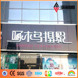 Ideabond Wall Decorative Panel High Gloss Aluminum Sandwich Panel con Competitive Price