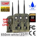 macchina fotografica della traccia della macchina fotografica di caccia di sistema di gestione dei materiali di 650nm GSM per la videosorveglianza di caccia